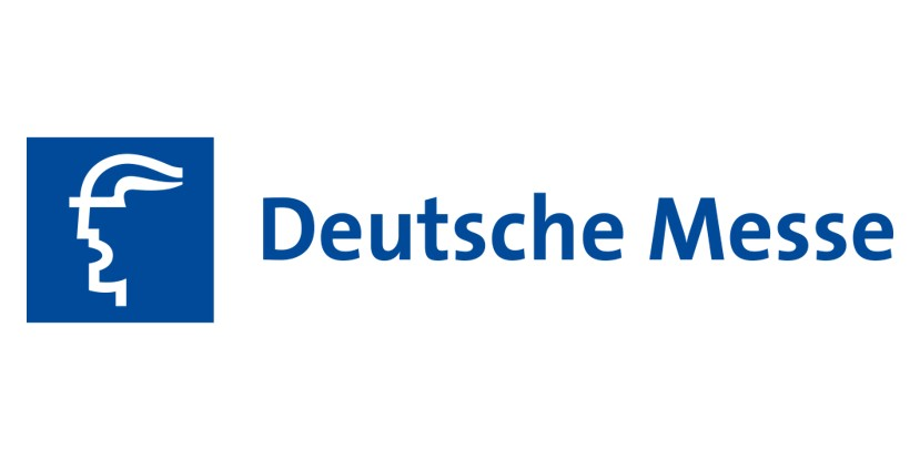 logo Deutsche Messe a client of the trade fair consulting team on the topic of exhibition sales