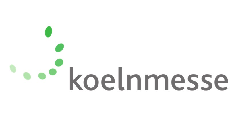 logo Koelnmesse a client of the trade fair consulting team on the topic of exhibition restructuring