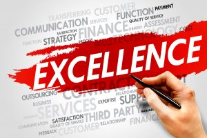 Excellence Word Cloud and digital sales
